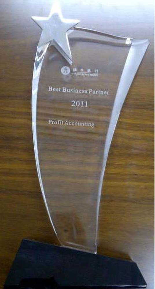 恆生銀行 - 最佳專業顧問夥伴獎 2011